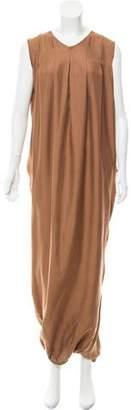 Bottega Veneta Silk Midi Dress