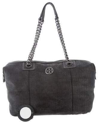 Tory Burch Suede Leather Bag