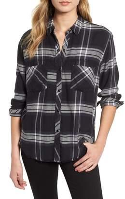 Rails Leo Plaid Woven Shirt