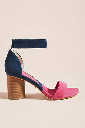 Jeffrey Campbell Purdy Colorblocked Heeled Sandals