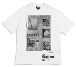 Diesel Little Boy's& Boy's Music Graphic Cotton Tee