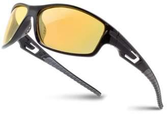 Shark Eyes INC Night Driving Polarized Sport Sunglasses