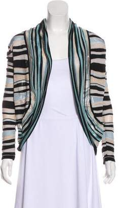 Missoni Striped Open-Front Cardigan