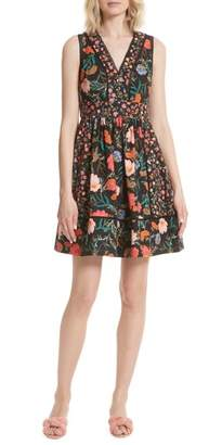 Kate Spade Blossom Sleeveless Fit & Flare Dress
