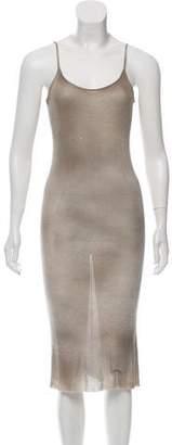 Avant Toi Rib Knit Midi Dress w/ Tags