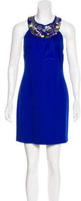 Trina Turk Embellished Sleeveless Dress