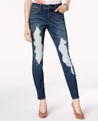 INC International Concepts I.n.c. Destructed Skinny Jeans