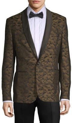 Aspetto Camo Print Tuxedo Jacket