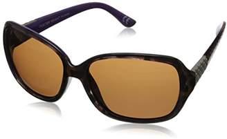 Foster Grant Women's Libretto Rectangular Sunglasses