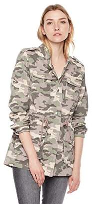 The Portland Plaid Co.women's military jacket Safari camo