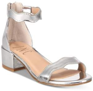 INC International Concepts I.n.c. Little & Big Girls Hadwin Scallop Two-Piece Sandals, Created for Macy's Women's Shoes