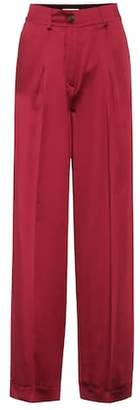 Valentino Silk satin trousers