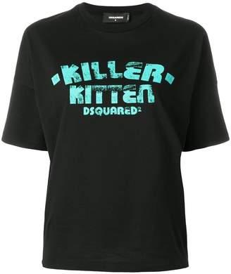 DSQUARED2 Killer Kitten T-shirt
