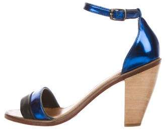 Rachel Comey Leather Ankle-Strap Sandals