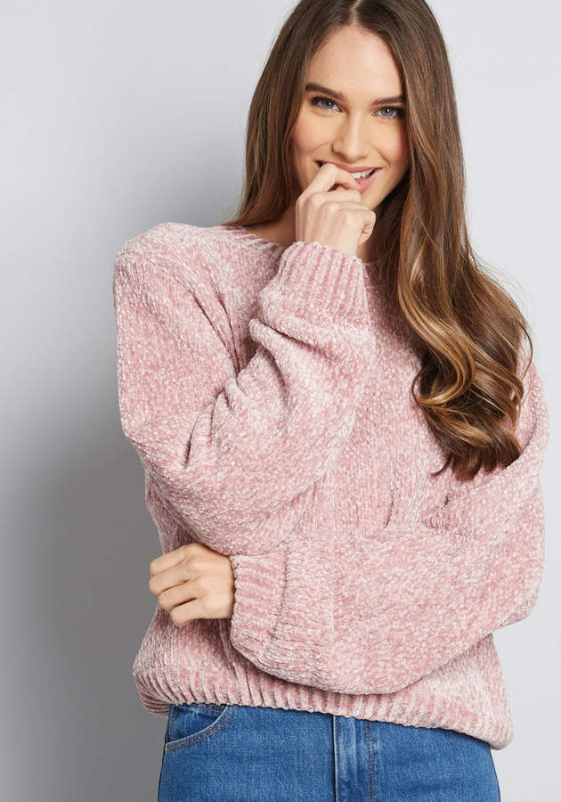 Soft and Found Chenille Sweater