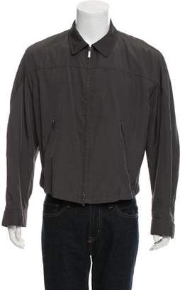 Donna Karan Lightweight Zip-Up Jacket