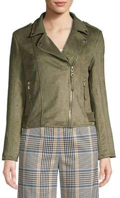release info on popular stores durable modeling Lord And Taylor Suede Jacket - ShopStyle
