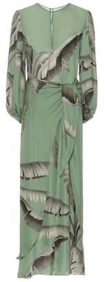 Johanna Ortiz Spirit Of Aloha silk dress