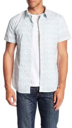TWENTYMETRICTONS Mini Floral Short Sleeve Tailored Fit Shirt