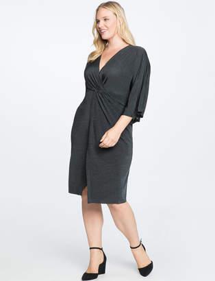 Kimono Sleeve Wrap Dress