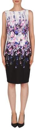 Joseph Ribkoff Gradient Floral Dress