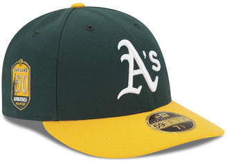 New Era Oakland Athletics Low Profile Ac 50th Anniversary 59FIFTY Fitted Cap