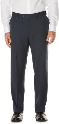 Savane Men's Active Flex Classic-Fit Flat-Front Dress Pants