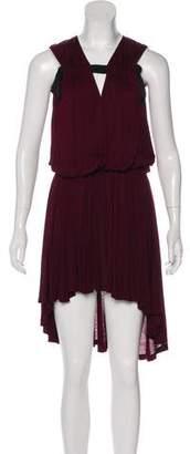 Lanvin High-Low Knit Dress