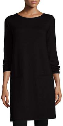 Eileen Fisher Long-Sleeve Fleece Tunic