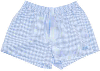 HUGO BOSS Two-Pack Blue and White Patterned Boxers