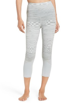 Women's Zella Gemini High Waist Crop Leggings $65 thestylecure.com