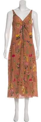 No.21 No. 21 Silk Floral Print Dress