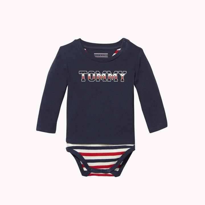 Tommy Hilfiger TH Baby Signature Onesie