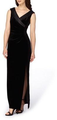 Women's Tahari Velvet Gown $189 thestylecure.com
