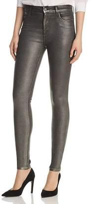 J Brand Maria Skinny Jeans in Silver Lament
