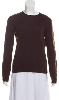 Ralph Lauren Black Label Cashmere Cable-Knit Sweater