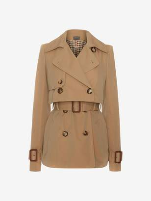 Alexander McQueen Short Trench Coat