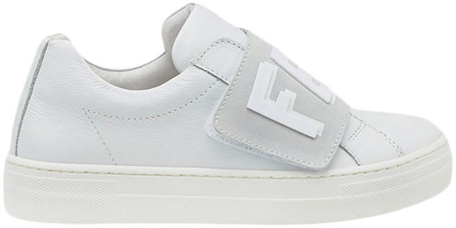 touch fastening logo sneakers