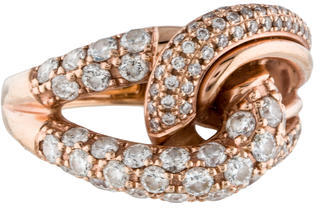 Le Vian Diamond Love Knot Ring $1,295 thestylecure.com