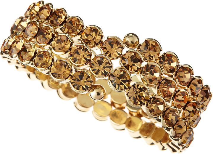 Fragments for Neiman Marcus Triple-Strand Wraparound Bracelet, Champagne