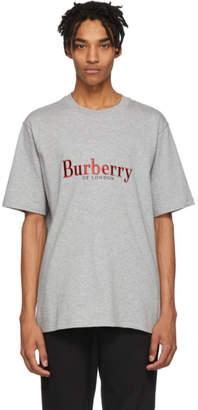 Burberry Grey Vintage Logo Lopori T-Shirt