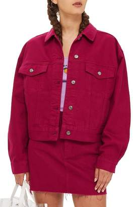 Topshop Moto Denim Jacket (Regular & Petite)
