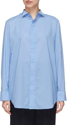J.Cricket 'Tuxedo' winged collar shirt