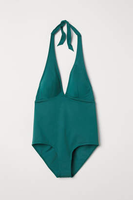 H&M H&M+ Shaping Swimsuit - Green