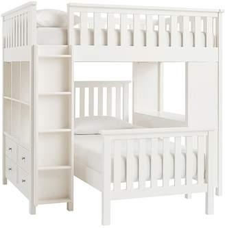Pottery Barn Kids Elliott Full Loft & Twin Bed Set