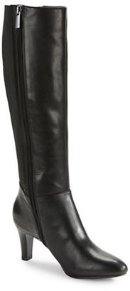 Bandolino Winola Leather Knee-High Boots $149 thestylecure.com