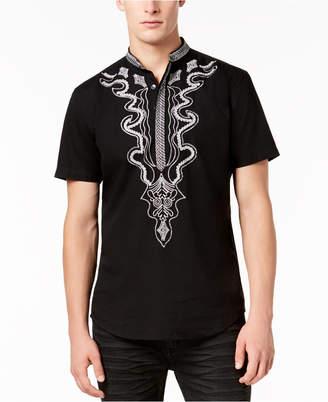 INC International Concepts I.n.c. Men's Dashiki Shirt, Created for Macy's