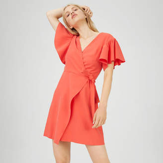 Club Monaco Geovanna Wrap Dress