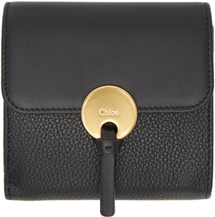 Chloé Chloé Black Square Indy Wallet