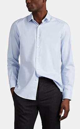 Lanvin Men's Micro-Jacquard Cotton Dress Shirt - Lt. Blue